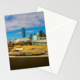 Oklahoma River by Monique Ortman Stationery Cards