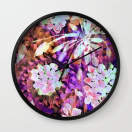 Another Shade of Vibrant Florida Color From My Florida Garden Wall Clock