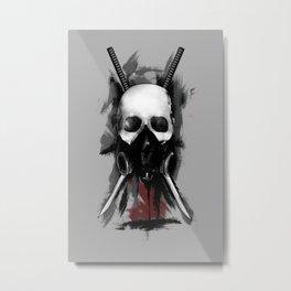 Shinobi Metal Print