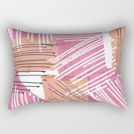 Big Sketch Collage Rectangular Pillow
