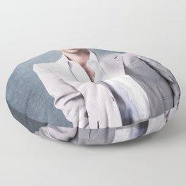 Penn Badgley Floor Pillow
