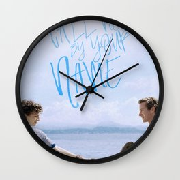 Call Me By Your Name Movie Wall Clock