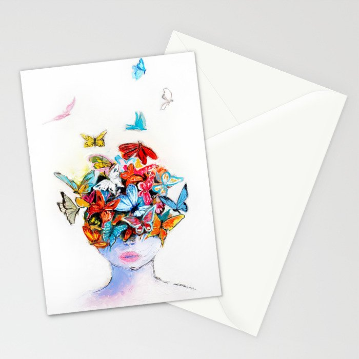 Beautiful life Stationery Cards