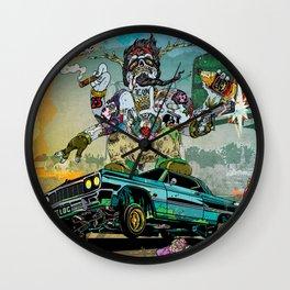 B-Side Low Ride Wall Clock