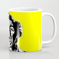 ace Mugs featuring Ace by Gary Barling