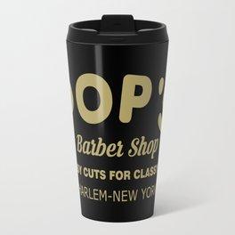 Barber Shop Travel Mug