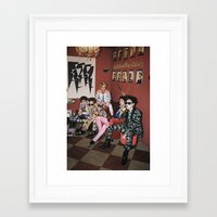 shinee Framed Art Prints featuring SHINee by Felicia