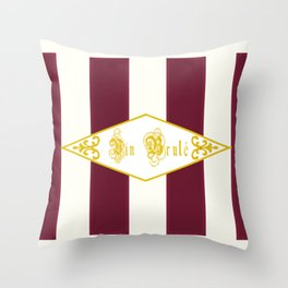 Vin Brule Antique Throw Pillow