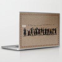 nori Laptop & iPad Skins featuring Wrong Tune by wolfanita