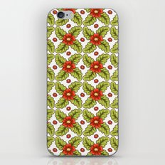 Guild of flowers and leaves! iPhone & iPod Skin
