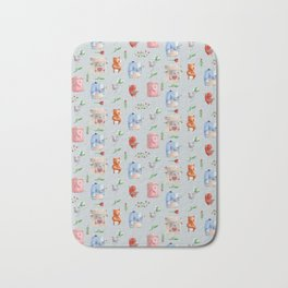 Unusual couples Bath Mat