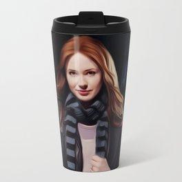Doctor Who's Amy Pond Travel Mug