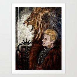 Dragon Age Inquisition - Cullen - Fortitude Art Print
