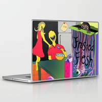 in the flesh Laptop & iPad Skins featuring Frosted Flesh by Masmantha