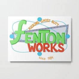 Fenton Works Metal Print