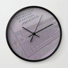 gender hwhet Wall Clock