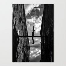 Hanging Man Canvas Print