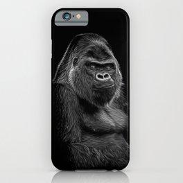 Impressive Silverback iPhone Case