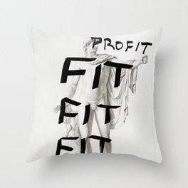 Strike 41 Throw Pillow