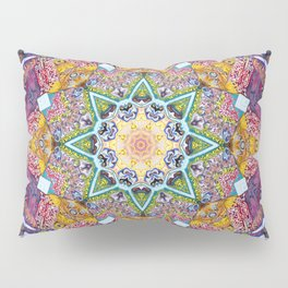 Symmetrical Colors Abstract Pillow Sham