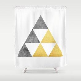Marble fashion composition VI Shower Curtain