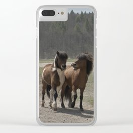 Are you hungry as well? Clear iPhone Case