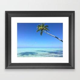 A little bit of Paradise Framed Art Print