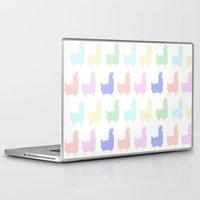 alpaca Laptop & iPad Skins featuring alpaca by Chocolate Amargo