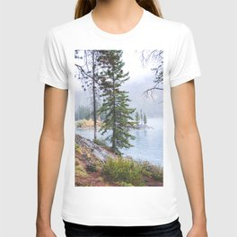348. Forest and lake view, Banff, Canada T-shirt
