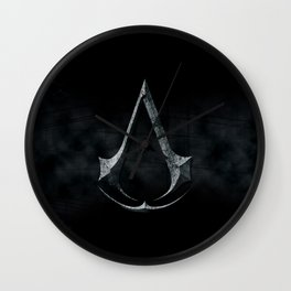 Assassins Creed Dark Stone  Wall Clock