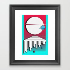 Orbit Framed Art Print