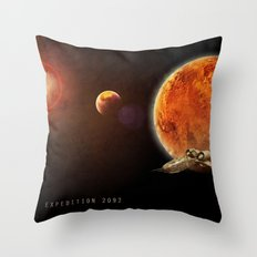 Expedition 2092 Throw Pillow