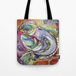 Bird is Figment Tote Bag