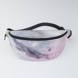 Cosmic pink marble Fanny Pack