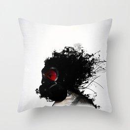 Ghost Warrior Throw Pillow