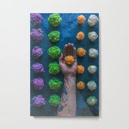 Baby Cauliflower Metal Print