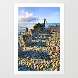 Pier from the Past Art Print