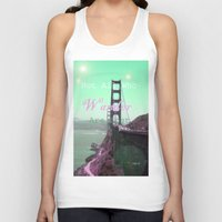 wander Tank Tops featuring Wander by Suzanne Kurilla