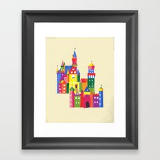 Neuschwanstein Castle Framed Art Print