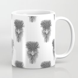 Emu Pattern Coffee Mug