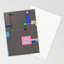 Anachronism Mechanism Stationery Cards