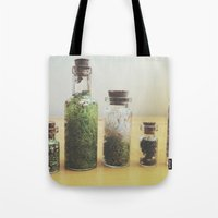 oasis Tote Bags featuring Oasis by Shiroshi