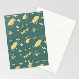 Insects are coming to town / Gold / Stationery Cards