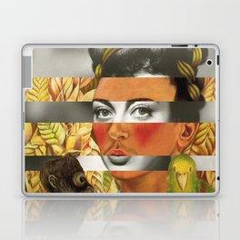 Frida Kahlo's Self Portrait with Parrot & Joan Crawford Laptop & iPad Skin