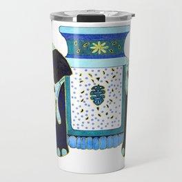Bombay Blue Travel Mug