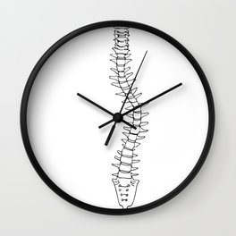 Scoliosis Wall Clock