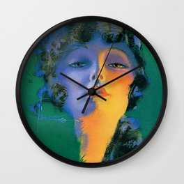 """Girl of My Dreams"" Pinup by Rolf Armstrong Wall Clock"
