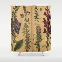 Naturgeschichte des Pflanzenreichs, Eßlingen 1870 Shower Curtain