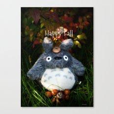 Happy Fall ^_^ Canvas Print