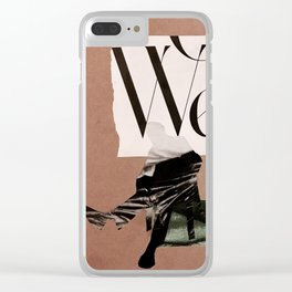 We the People. Clear iPhone Case